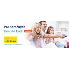 freeSAT plus HD s prijímačom